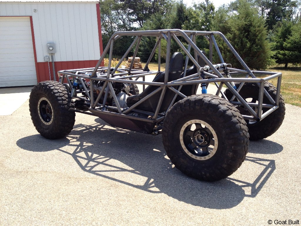 Ibex 2 Seat Chassis Goat Built
