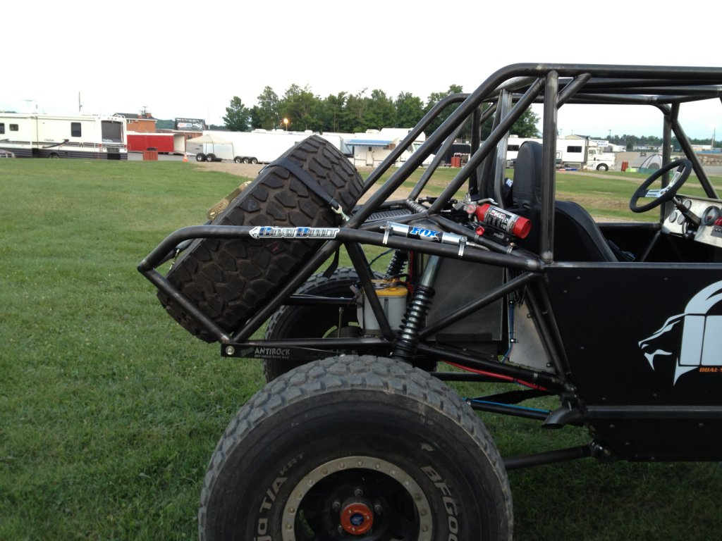 Rock Crawler Chassis : Ibex seat chassis goat built
