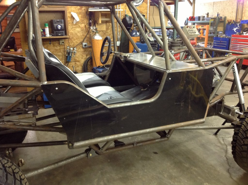 Ibex 4 seat chassis goat built for Side by side plans