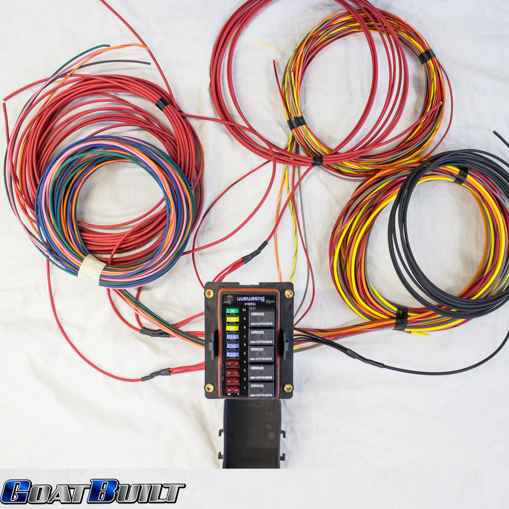 10 Circuit Buggy Wiring Harness Goatbuilt universal 10 circuit wire harness pirate4x4 com 4x4 and off universal wiring harness at gsmportal.co