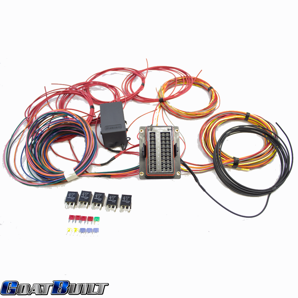 Universal 10 Circuit Wire Harness 4x4 And Off Road Show Wiring Im Working On Good Schematic To How It Is Wired
