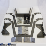 Engine Crossmember With Bushings and Hardware kit