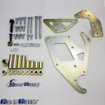 GM LS Power Steering Brackets, GM LS Truck Vortect Dual P:S Pump Brackets 4409