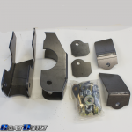 Goatbuilt Rear Axle Lower Control Arm Bracket Kit 2-Seat Dual Shock Mounts