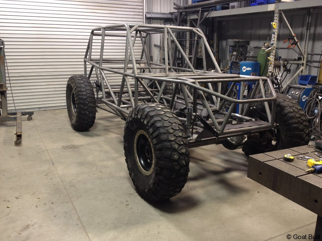 IBEX 4 SEAT CHASSIS – Goat Built